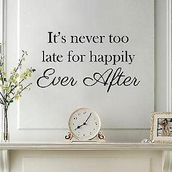 Happily Ever After Quote mur