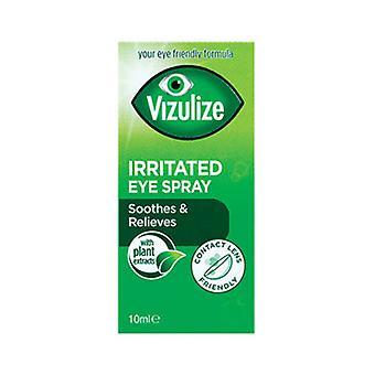Vizulize irriterade ögon Spray 10Ml