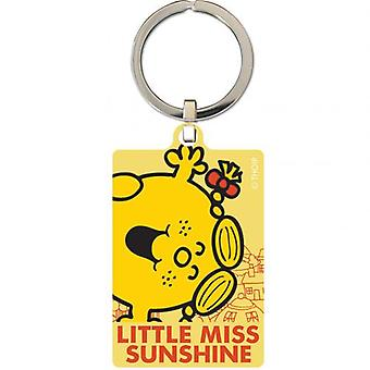 Little Miss Sunshine Metal Keyring