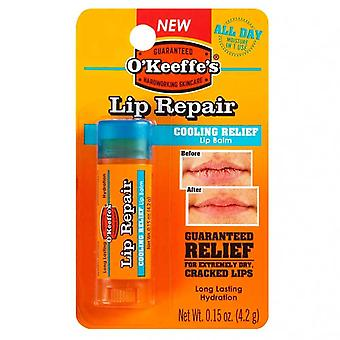 O'keeffe's lip repair cooling relief lip balm, cooling relief, 0.15 oz