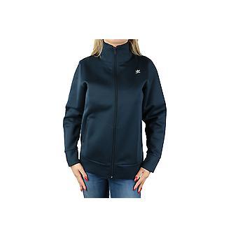 adidas W Hyke Track Top Hoodie AJ5459 Womens sweatshirt