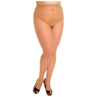 Glamory ouvert 20 denier Sheer collants-make up beige