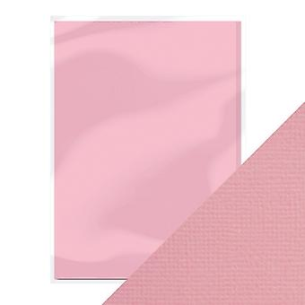 Craft Perfect A4 Weave Textured Card Blossom Pink Tonic Studios