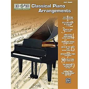 10 for 10 Sheet Music Classical Piano Arrangements - Piano Solos by Al