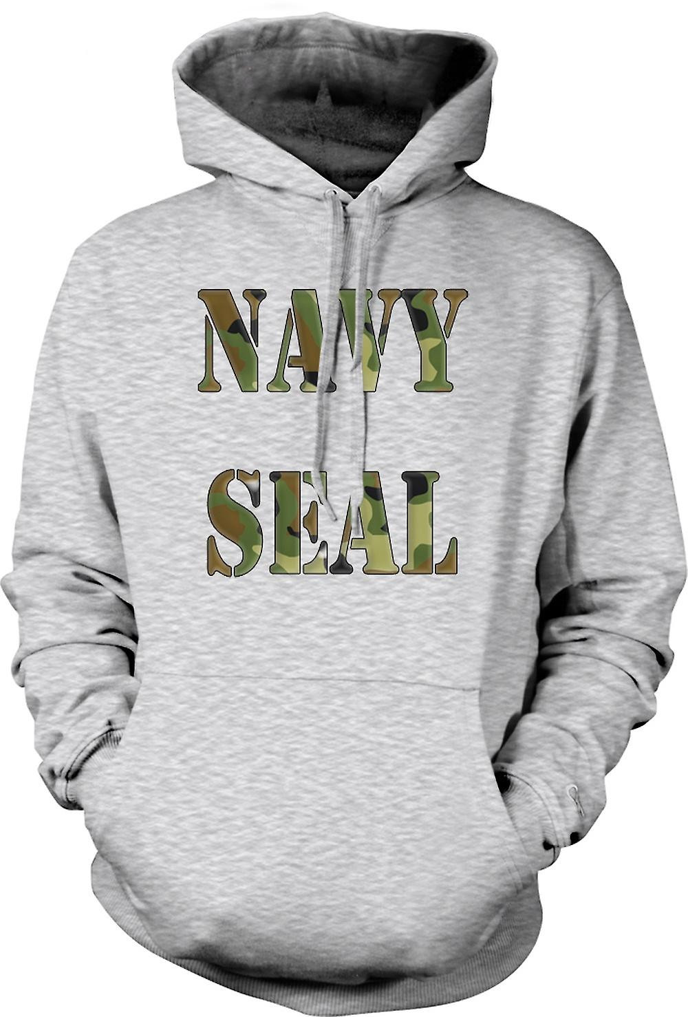 Mens Hoodie - US Navy Seals Elite