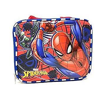 Lunch Bag - Marvel - Spiderman - Blue/Red New 121495-2