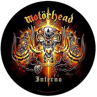 Inferno de Motorhead grand rond coudre-le nouveau patch 280mm de diamètre (ro)