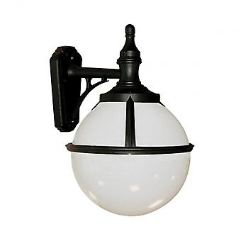 Elstead Beleuchtung Glenbeigh Outdoor-Wand Licht In schwarz