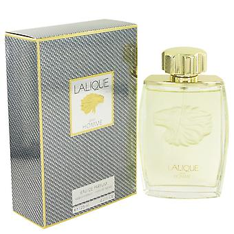LALIQUE by Lalique Eau De Parfum Spray (Lion) 4.2 oz / 125 ml (Men)