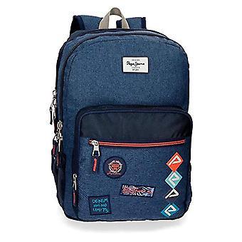 Pepe Jeans Paul Backpack 44 centimeters 19.8 Blue (Azul) 63224B1