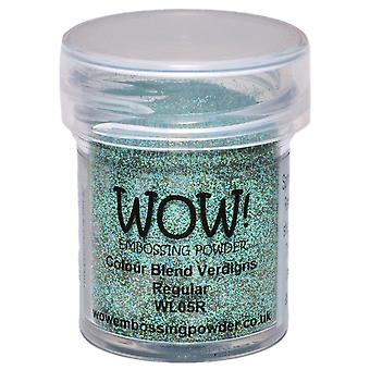 Wow! Embossing Powder 15Ml Opaque Verdigris Wow Wl05r