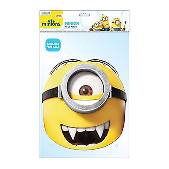 Minion Gone Batty Official Minions Card Party Face Mask