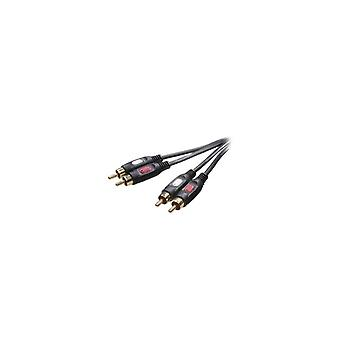 Vivanco 3/02 g-n Cinch Audiokabel 2,5 m