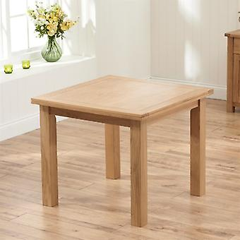 Mark Harris Sandringham 90cm Solid Oak Extending Dining Table