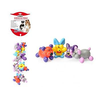 Camon Cluster Of Small Animal Vinyl 10 cm (Chiens , Jouets et sport , En latex)
