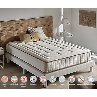 Matratze viskoelastische Luxus Komfort Cashmere 26 cm Höhe (+ /-2cm) 135_x_190_cm