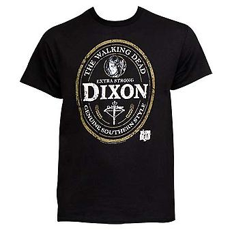 Mænds Walking Dead Dixon Emblem T-Shirt
