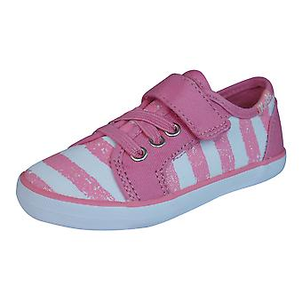 Keds Rally K AC Girls Trainers / Shoes - Coral Pink