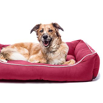 Dog Gone Smart Lounger Bed Berry 56x51cm
