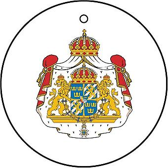 Sweden Coat Of Arms Car Air Freshener