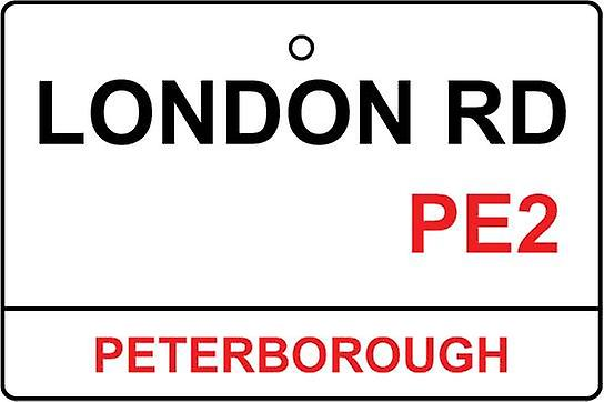 Peterborough / Rd London Street Sign deodorante per auto