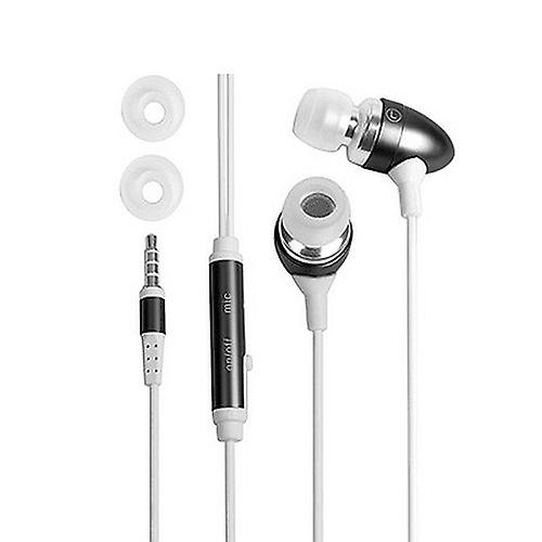 In-ear stereo headset for Samsung Apple HTC Nokia etc. Black