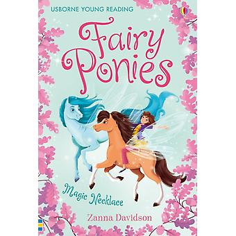 Fairy Ponies The Magic Necklace (Young Reading Series 3 Fiction) (Young Reading Series Three - Fairy Ponies) (Hardcover) by Davidson Zanna Bongini Barbara Costa Jana