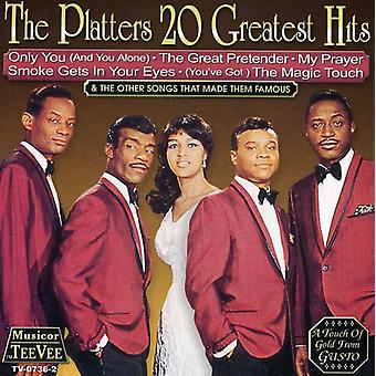 Pladerne - 20 Greatest Hits CD] USA importerer