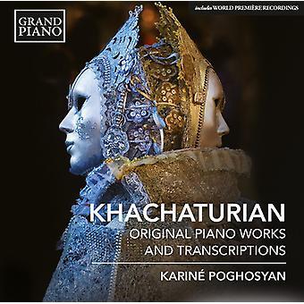 Khatjaturian / Poghosyan - Pno værker & Ballet transskriptioner [CD] USA import
