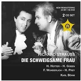 R. Strauss - Richard Strauss: Die Schweigsame Frau (Salzburg 08.08.1959) [CD] USA importerer