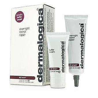 Slimme Set van Dermalogica leeftijd: Overnachting Retinol reparatie 30ml + Buffer crème 15ml - 2st