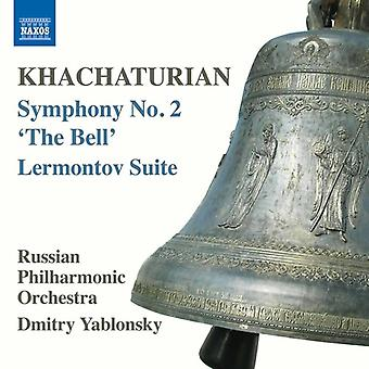 Khachaturian, a. / russisk Filharmoniske Orkester - Khachaturian: Symfoni nr. 2 - Bell [DVD] USA importere