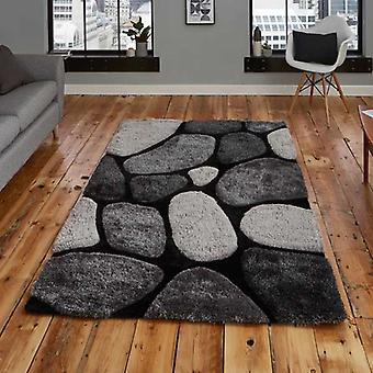 Rugs -Noble House - G1631 Black / Grey