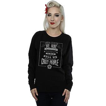 Supernatural Women's Crazy People Sweatshirt