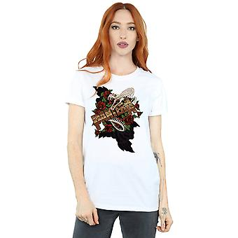 Pantera Women's Rattle Snake Boyfriend Fit T-Shirt
