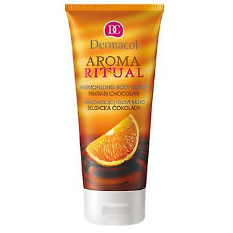 Dermacol  Aroma Ritual Body Lotion - Belgian Chocolate (Cosmetics , Body  , Moisturizers)