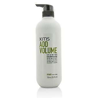 KMS California tilføje Volume Shampoo (volumen og fylde) - 750ml/25,3 oz