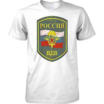 Russian Airborne Military Insignia - Elite Army Special Forces - Mens T Shirt