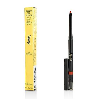 Yves Saint Laurent Dessin Des Levres The Lip Styler - # 13 Le Orange - 0.35g/0.01oz
