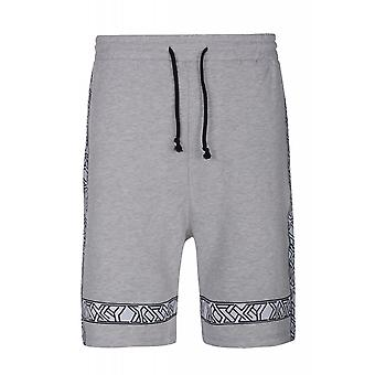 JUNK YARD Axel shorts men's leisure shorts grey print
