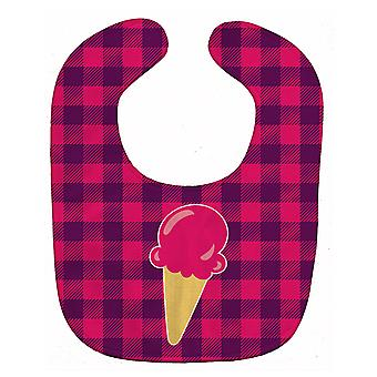Carolines Treasures  BB8637BIB Backyard BBQ Ice Cream Baby Bib