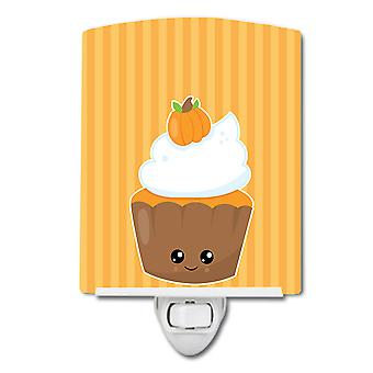 Carolines Treasures  BB8761CNL Fall Cupcake Ceramic Night Light