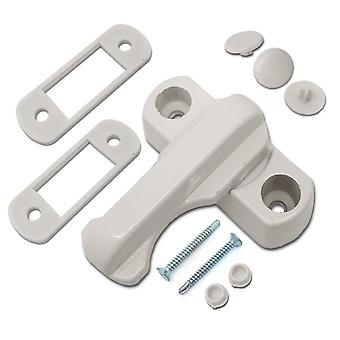 Home Secure Sash Jammers - Extra Security Locks For UPVC Window & Doors - White