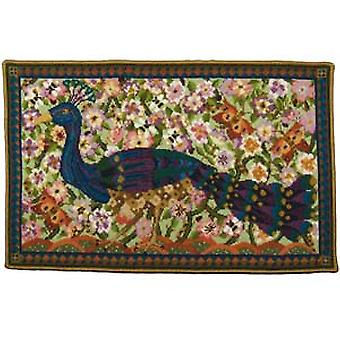 Peacock Wallhanging Needlepoint Canvas