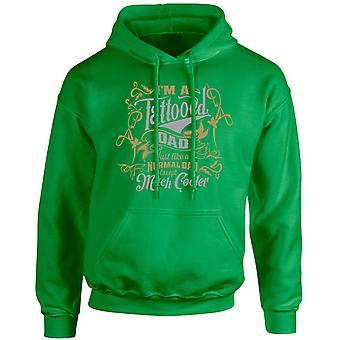 I'm a Tattooed Dad Except Much Cooler Gold/Silver Edition Unisex Hoodie 10 Colours (S-5XL) by swagwear