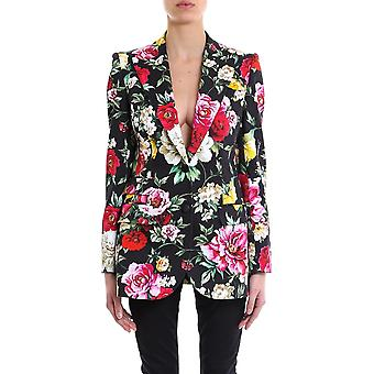 Dolce E Gabbana ladies F294ITFSFGGHNM62 multicolour cotton Blazer