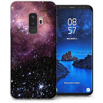 Samsung Galaxy S9 Plus Konstellationen TPU Gel Case - schwarz