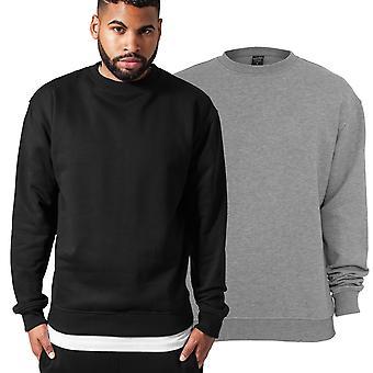 Urbanas classics - urbano-fit cuello suéter de sudadera