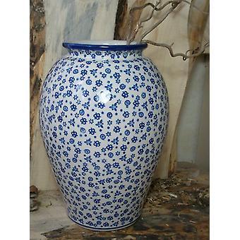 Floor vase, height 32 cm, 12 - tradition Oberlausitz ceramic - BSN 5079