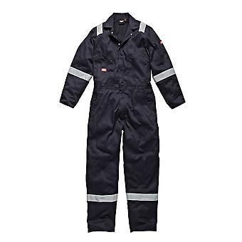 Dickies Mens arbetskläder bomull lätt overall marinblå WD2279LWN